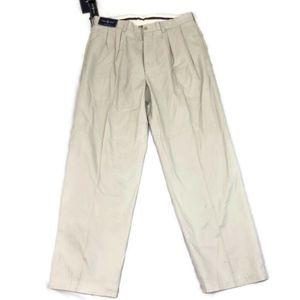 Ralph Lauren Polo Golf Men's Khaki Pleated Front
